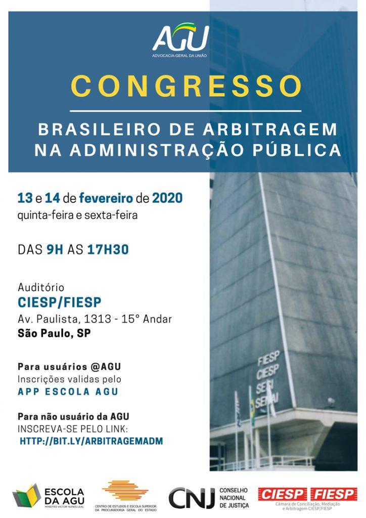 Congresso Brasileiro de Arbitragem na Administração Pública